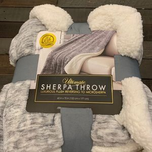 life comfort Bedding - New life comfort ultimate Sherpa Throw